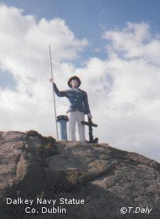 Dalkey Navy Statue