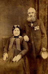 Robert Marr, retired coastguard and his wife Sarah